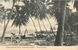 Seychelles - Félicité Island - Coco-nut Oil Mill - Amincie En Haut à Droite - Seychelles