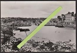 76 LE HAVRE -- Photo Originale (FERNEZ) Quartier Saint-François _ Bassin Du Roy Avec Pont & Quartier Notre-Dame _Guerre - War, Military
