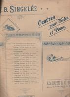 Spartito J.B. SINGLEE OUVRES POUR VIOLON ET PIANO ED BOTE & G. BOCK Berlin 1838 - Blasinstrumente