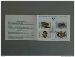 Venda Presentation Card 1979 Onafhankelijkheid Indépendance Vlag Wapenschild Drapeau Armoiries Yv  1-4 - Unclassified