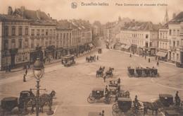 BRUXELLES / BRUSSEL / ELSENE / IXELLES / PLACE COMMUNALE ET CHAUSSEE D IXELLES / TRAM / TRAMWAYS - Ixelles - Elsene