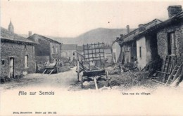 Belgique - Vresse-sur-Semois - Alle-sur-Semois - Une Rue Du Village - Vresse-sur-Semois