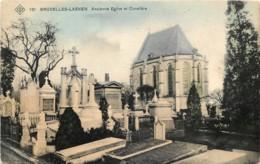 Belgique - Bruxelles-Laeken - Edit. S.B.P. N° 121 - Ancienne Eglise Et Cimetière - Laeken
