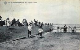 Belgique - Edit. S.B.P. N° 20 - Blankenberghe - Sur La Brise-Lame - Blankenberge