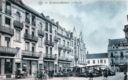 Belgique - Edit. S.B.P. N° 21 - Blankenberghe - Le Marché - Blankenberge