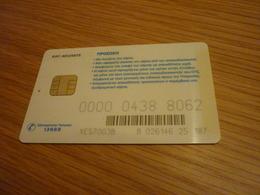 Greece OTE TV Television Digital Satellite Chip Card (version V) - Telecom Operators