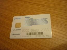 Greece OTE TV Television Digital Satellite Chip Card (version V UK) - Telecom Operators
