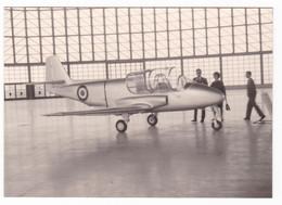 AEREO - AEROPLANO - JET  PLANE -  NON IDENTIFICATO   - FOTO ORIGINALE 1964 - Aviazione