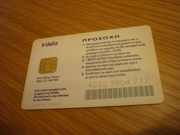 Greece Nova TV Television Digital Satellite Chip Card (Irdeto Version Kappa) - Telecom Operators