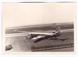 """AEREO - PLANE - """" CARAVELLE  AIR FRANCE """" - AVION -  FOTO ORIGINALE 1967 - Aviazione"""
