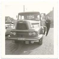 "PHOTO - Camion ""Unic"" - Transports JOURDAN - Ft 9 X 9 Cm - Auto's"