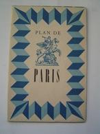 DEPLIANT TOURISME : PLAN DE PARIS / METRO 1949 - France