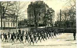 CAUDERAN BORDEAUX   = école Sainte Marie  Leçon De Gymnastique  1381 - Bordeaux
