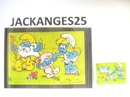 KINDER 1996 PUZZLE  K97 N 114  SCHTROUMPFS SCHTROUMPF SMURFEN  + BPZ - Puzzles