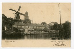 D237 - Zwolle Eekwal Met Molen - Uitg Tamse - Molen - Moulin - Mill - Mühle - Zwolle