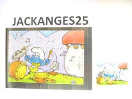 KINDER 1996 PUZZLE  K97 N 112  SCHTROUMPFS SCHTROUMPF SMURFEN  + BPZ - Puzzles