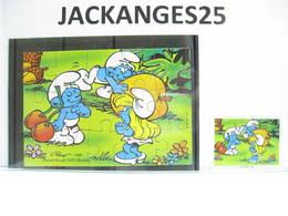 KINDER 1996 PUZZLE  K97 N 110  SCHTROUMPFS SCHTROUMPF SMURFEN  + BPZ - Puzzles