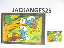 KINDER 1996 PUZZLE  K97 N 107  SCHTROUMPFS SCHTROUMPF SMURFEN  + BPZ - Puzzles
