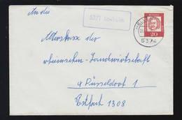 Landpost-Stempel 5371 Losheim Auf Brief HELLENTHAL 26.7.1963 Nach Düsseldorf - BRD