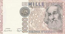 ITALIA BANCONOTA DA LIRE 1000 FDS MARCO POLO DECRETO MINISTERIALE 6/1/82 SERIE AF 711961 A - [ 2] 1946-… : Repubblica