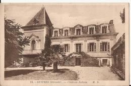 2102. CPA 33 GUÎTRES. CHATEAU JADEAU 1942 - Francia