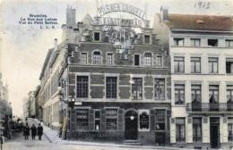 """Belgique - Bruxelles - Brasserie """" Au Roy D' Espagne """" Au Coin De La Rue Aux Laines - Cafés, Hôtels, Restaurants"""