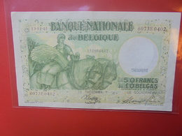 BELGIQUE 50 FRANCS 13-1-1945 CIRCULER BELLE QUALITE - [ 6] Tesoreria