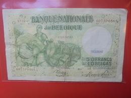 BELGIQUE 50 FRANCS 13-1-1945 CIRCULER - [ 6] Tesoreria