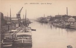 BRUXELLES / BRUSSEL / QUAI DU BATELAGE - Maritiem