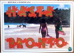 REPUBLICA DOMINICANA HASTA PRONTO 2 PIN UPS EN MAILLOT COSTA NORTE FOTO WILLAIM MORINI - Pin-Ups