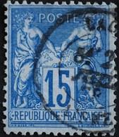 -Sage N°101  Type Ll.(CAD) O LAON 1878. - 1876-1898 Sage (Type II)