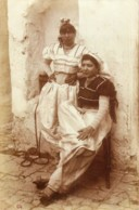 Carte-Photo - Algérie - Femmes Dans La Casbah - Algerien