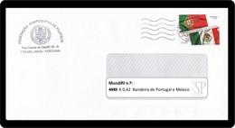 Portugal 2014 Emissão Conjunta México Símbolos Nacionales Banderas Flag Drapeau - Omslagen