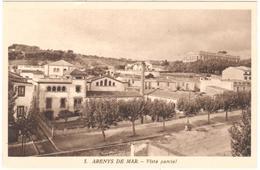 POSTAL   ARENYS DE MAR  -BARCELONA  -VISTA PARCIAL - España