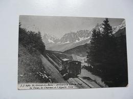 CPA 74 HAUTE SAVOIE - ST GERVAIS LES BAINS : Arrivée à La Gare De VOZA - Saint-Gervais-les-Bains