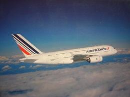Avion / Airplane / AIR FRANCE / Airbus A380 - 1946-....: Era Moderna
