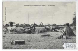 11759  FRD27  AK/PC/CPA SUCRERIE DE NASSANDRES LA MOISSON TBE - Altri Comuni