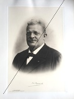 1898 Rare Lithographie Industrie Belge Edouard Pynaert Van Geert Professeur Horticulture Horticulteur GAND - Documents Historiques