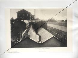 1898 Rare Lithographie Industrie Belge Fabrique D'auto Automobile Nicolas Vincke à Bruxelles - Documents Historiques