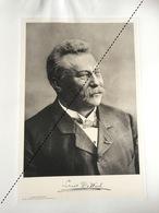 1898 Rare Lithographie Industrie Belge Louis De Waele Construction Charpente Menuiserie à Bruxelles - Documents Historiques