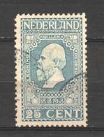 Netherlands 1913 NVPH 96 Canceled (6) - 1891-1948 (Wilhelmine)