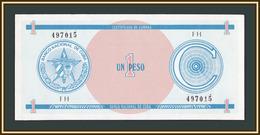 Cuba 1 Pesos 1985 FX 11 UNC - Cuba