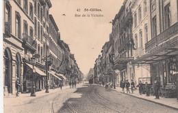 BRUXELLES / BRUSSEL / ST GILLES /  RUE DE LA VICTOIRE / TRAM / TRAMWAYS  1920 - St-Gilles - St-Gillis