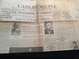 L AMI DU PEUPLE /AVION CATASTROPHE CORBIGNY /STAVISKY / /NANTERRE PETITS VIEUX - Newspapers