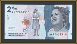 Colombia 2000 Pesos 2018 P-458 (458d) UNC - Colombia