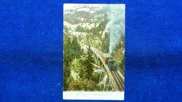 Rigi Bahn Schnurrtobelbrücke Switzerland - Svizzera