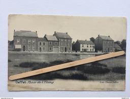 OUFFET «Place De L'ÉTANG « Panorama (1900)Édit J.Boulet, Ouffet. - Ouffet