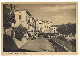 4526 - S FEDELE INTELVI ALBERGO IRIS RISTORANTE CAFFE' COMO 1940 CIRCA AUTOBUS ANIMATA - Italia