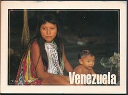 °°° 19211 - VENEZUELA - DELTA DEL ORINOCO - 1998 With Stamps °°° - Venezuela