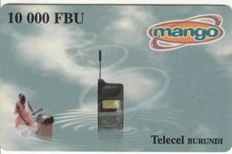 Burundi - Mango - Mobile 10 000 FBU - Burundi